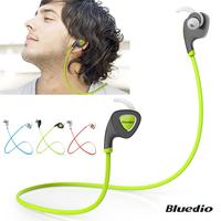 Bluedio Q5 Bluetooth V4.1 Earphone Stereo In Ear Earbud Headset Wireless Sports Sweatproof Headphone Support APP Noisy Reduction