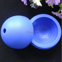Silicone Wars Death Star Round Ball Ice Cube Mold Tray Desert Sphere Mould DIY