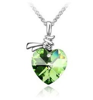 Custom-made high-end jewelry wholesale Austrian crystal necklace - crystal jewelry wholesale wholeheartedly 2308