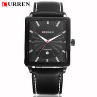 CURREN Brand New High-End Men's Business Casual Fashion Watches Waterproof Quality Assurance Auto Date Quartz Movement Watch