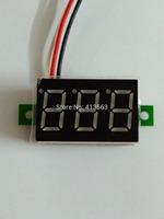 R1B1 Portable Voltmeter DC0-100V Red Light Digital LED Panel Voltage Meter free shipping  drop shipping #00006