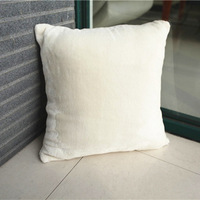 Wholesale(10pieces/lot) new plush white cushion covers for sofa christmas home decorative chair cover 45x45cm ikea pillow off15%