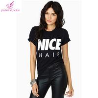 Roupas Femininas Summer High Street T-shirts Womens Fashion Short Sleeve Black Letter Print T shirt Tops Tees Dropshipping