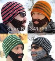 winter funny hat beard hat men & womens winter beanie ski mask winter mask cap,gorros carhart,CNL