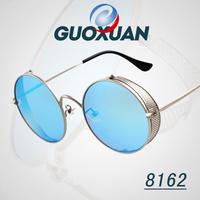 Retro Glasses come! 2015 New Fashion Alloy Frame Steampunk Sunglasses For Men Women Round Vintage oculos feminino oculos de grau