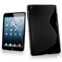 100pcs/Lot S Line Wave Gel Case Cover For Apple iPad Mini
