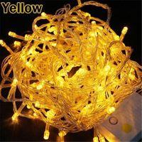 100 LED String Light 10M 220V Decoration Light for Christmas Party Wedding 4Colors 85824-85827