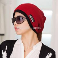 winter beanie men & womens hats,3 ways to wear Skull Chunky Baggy Warm knit touca beanie women cap,gorros carhart,