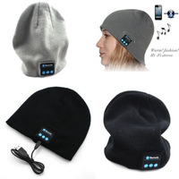 Wireless Bluetooth Cap Hat Headset Headphones Speaker Mic For CellPhones SAMSUNG