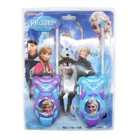 2 PCS/Lot Frozen Kids Walkie Talkie Juguete Elsa Anna Interphone Toys Spy Gadgets Christmas Gift Walky Talky for Children