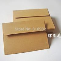 20pcs/lot 17.5*12.5CM Import Kraft Paper Envelopes Blank No Printing DIY Hand-Painted envelopes de papel