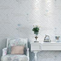 2014new non-woven wallpaper bedroom three-dimensional flower garden flowers living room sofa background