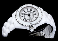 women's watches ladies luxury chel brand white ceramic sapphire glass high quality fashion quartz watch