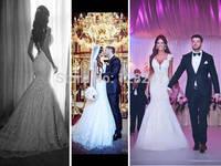 Fancy design cap sleeve v neck mermaid long train backless wedding dresses 2015 RR-052
