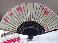 Free Shipping Customized wedding favor Folding Fan Wedding decoration