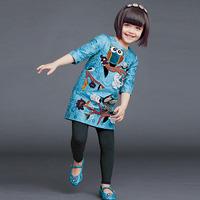 2014 news Girls clothing winter dress kids clothes kids children dress baby clothing girls wool dress coat