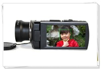 Free shipping HDV-A108 Full HD camcorder. 23 x optical zoom. 3.5 touch screen 1920x1080 . 16 million pixels. good  video camera