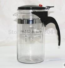 New arrival hot selling kettle Heat Resistant Glass Teapot Convenient Office Tea Pot Set 1000ml special