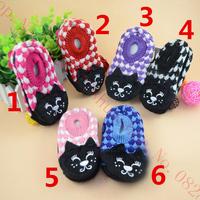 Spring Baby Antiskid Floor shoe Baby Floor socks Keep warm Leather Sole Antiskid Baby Socks