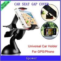 Universal Car Windshield Mount Holder Bracket Stand 360 Degree Rotating for Mobile Phone MP4 MP5 GPS Tablet (Black White)
