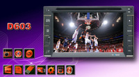 """Touch Screen car dvd player gps navigation USB SD Bluetooth FM AM 6.2"""" 2din in support rear view camera input"""