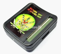 Free shipping New Automatic Tobacco Roller Plactic Cigar CIGARETTE ROLLING MACHINE 78mm Regular Many Designs