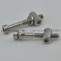 2pcs/pair Titanium M5 x 40mm Ti Bolts For Easton EC90 EC70 Zero Seatpost Bicycle Seat post Screws