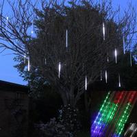 New 50cm Meteor Shower Rain Tubes Christmas Decorative String Light Led Lamp 100-240V EU US Plug Holiday Light FREE SHIPPING