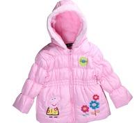DHL Free shipping Spring Autumn Winter Girl cartoon jacket, Peppa Pig jacket,girls jacket with 4 colors,4pcs/lot wholesale