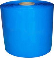 Width 268mm / Diameter 170mm blue PVC heat shrinkable tube heat shrinkable film battery Holster insulation protection