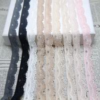 20 yards/lot 17mm width  Elastic Stretch Lace trim DIY  headband sewing garment accessories