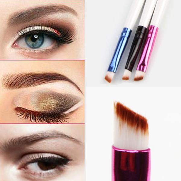 1PCS Pro.Angled Eyeliner Eyebrow Brush Tattoo Liquid Eyeshadow brushes Eye Brow Styling Tool Professional Make up Comestic Tool(China (Mainland))