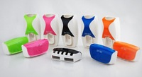 New Automatic Toothpaste Dispenser Toothbrush Holder sets toothbrush Family sets with ratail box