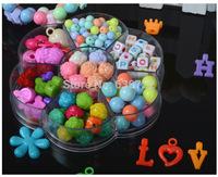 Children DIY007 beaded hand-woven beaded bracelet loose beads color Preschool Educational Toys