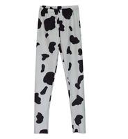 black milk Sky digital black leopard print leggings floral leggings a generation of fat