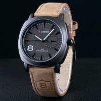 10pcs CURREN watch Men High Quality Leather Watch Man wristwatch NEW Fashion casual dress wholesale lot relogio reloj hombre