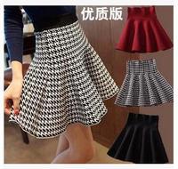 Korean  new winter knit  pleated skirts tutu  umbrella skirt 00112