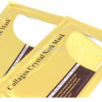 Collagen Neck Mask 2pcs/lot Collagen Bionic Crystal Circle-shaped Powder Whitening Moisturizing Neck Care