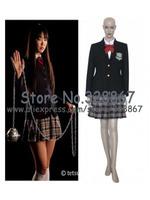 Kill Bill Gogo Yubari School Uniform Cosplay Costume