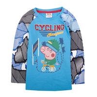 2014 new NOVA children's wear new star children autumn boy long sleeved cotton T-shirt A4128