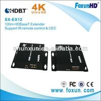 100m HDBaseT Extender over single cat5e/6 calbe