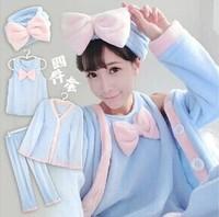 Lady fashion night clothes girl Nightgowns Sleepshirts women sleeping clothes sets