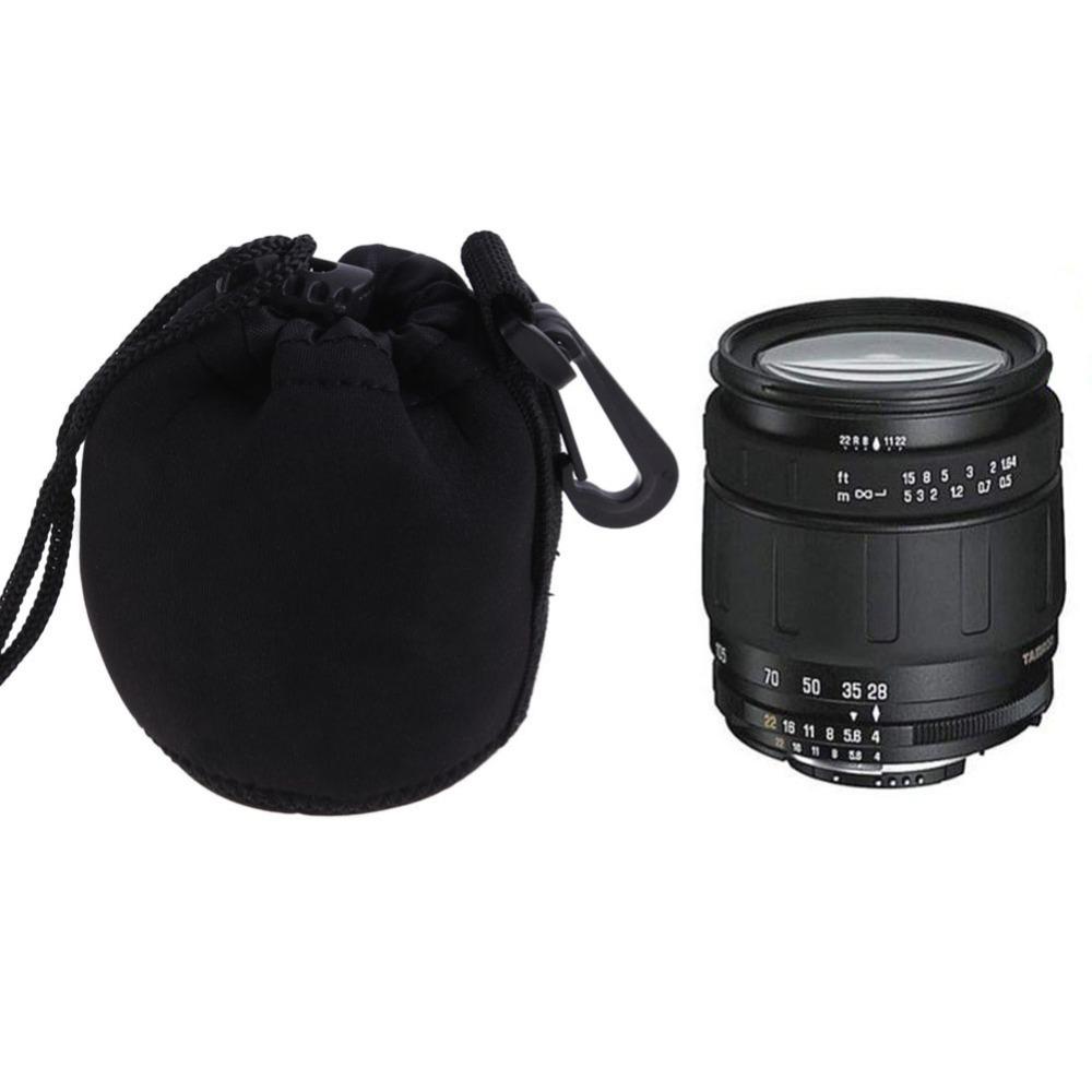Камеры объектива мягкий h09 неопрена протектор нести мешочек чехол сумка s-10x8 размер s черный ems dhl бесплатная доставка воздушной почтой