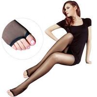 Wholesale 10pcs/lot  black Fish head Stocking, Women Open-toed slim velvet stockings pantyhose 15D Ultra-thin Legging