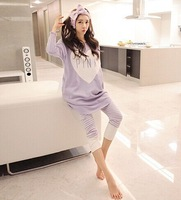 Lady fashion night clothes girl Nightgowns Sleepshirts women sleeping clothes sets