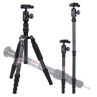 "MANBILY CZ-305 Professional portable travel Camera&DV tripod Carbon Fiber tripod,61.2"""