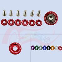 Aluminum Car Fender Washers/Blot Nuts (with SK***2 Logo) Fit for Honda Civic Integra RSX EK S2000
