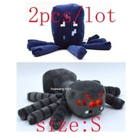 2pcs/lot minecraft toys plush doll Children  Spider & Squid Free shipping G-021593