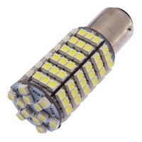 120 LED #1157 PAIR 12V TAIL LAMPS LIGHT REAR BRAKE STOP TURN SIGNAL WHITE BULBS 82884