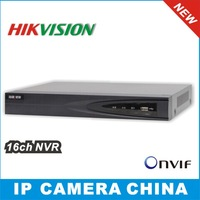 2014 Hikvision NVR 16CH Plug & Play 8CH PoE Up to 5MP Onvif Network video recorder